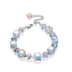 18K Swarovski Crystals Northern Lights Bracelet